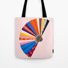 Hand Fan Tote Bag