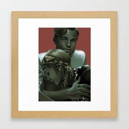 Gatsby Framed Art Print