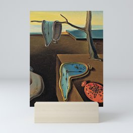The Persistence of Memory Salvador Dali Mini Art Print