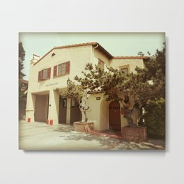 Fire Station One at Laguna Beach Metal Print