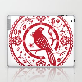 Traditional chinese paper cut Laptop & iPad Skin