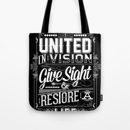 United Invision Tote Bag