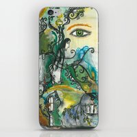 snape iPhone & iPod Skins featuring Soul of Snape by Springfae