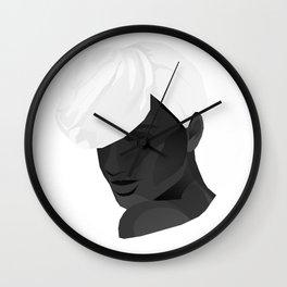 Miss Foulard Wall Clock