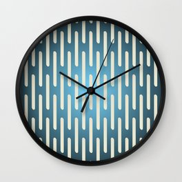 seamless pattern with gradient background Wall Clock