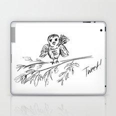 A Bird :: The Original Tweet Laptop & iPad Skin