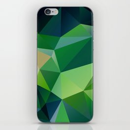 Triangles of the Cosmos iPhone Skin