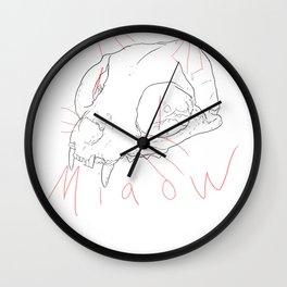 Miaow Wall Clock