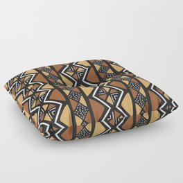 African mud cloth Mali Floor Pillow