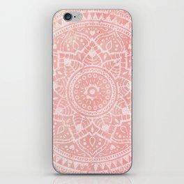 Pink Mandala iPhone Skin