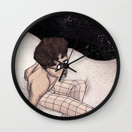 The day dreamer Wall Clock
