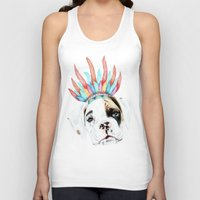 puppy Tank Tops featuring Puppy by 13 Styx
