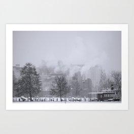 Winter in Finland Art Print