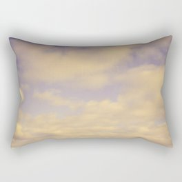 Her Dreams Stretched as Far as the Sea Was Wide Rectangular Pillow