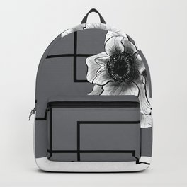 Black & White Anemone Circuit Backpack