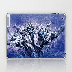 Thistle and Weeds_deep purple Laptop & iPad Skin