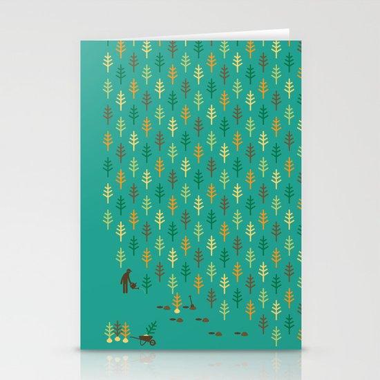 Reforestation Stationery Cards