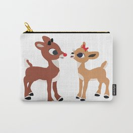 Classic Rudolph and Clarice Carry-All Pouch
