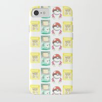 nintendo iPhone & iPod Cases featuring Nintendo Love by Laura Pulido