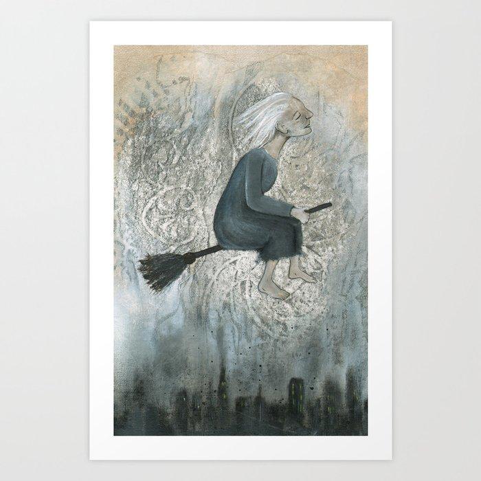 City Grime Art Print