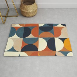 mid century abstract shapes fall winter 1 Rug