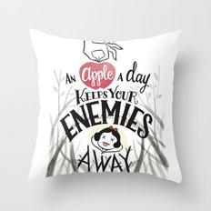 Evil Queen's advice Throw Pillow