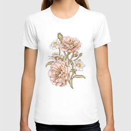 Pink Country Rose T-shirt