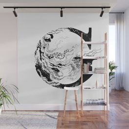 Fancy Marbled G Wall Mural