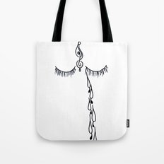 tears for the world Tote Bag