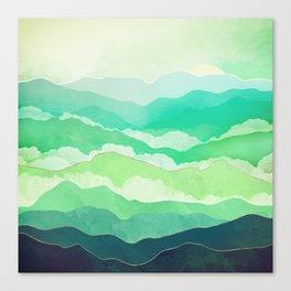 Emerald Spring Canvas Print
