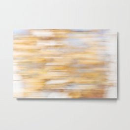 Autumn Leaves Abstract 1 Metal Print