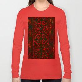 Aberration. Nomadic art Long Sleeve T-shirt