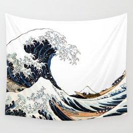 Great Wave off Kanagawa Wall Tapestry