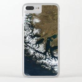 Map strait of magellan Clear iPhone Case