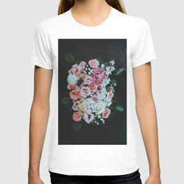Light Pink Floral Burst (Color) T-shirt