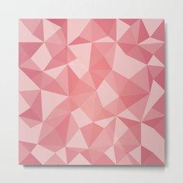 Geometric pyramids V4 Metal Print