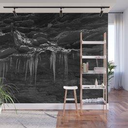 Black Ice Wall Mural