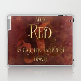 And RED to call enchantment down. Shadowhunter Children's Rhyme. Laptop & iPad Skin