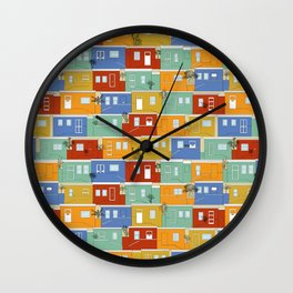 Bo-Kaap Wall Clock