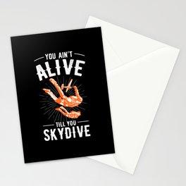 Parachutist Parachute Paratrooper Stationery Cards