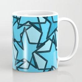 """blue stars"" Coffee Mug"