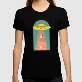 The Albuquerque UFO Museum and Chihuahua Rescue T-shirt