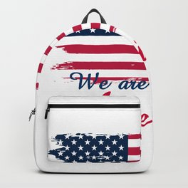 We are Americans,USA Products Backpack