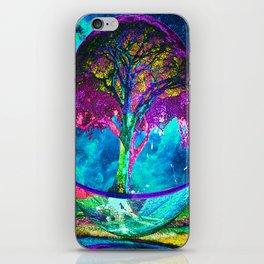 Tree of Life Meditation iPhone Skin
