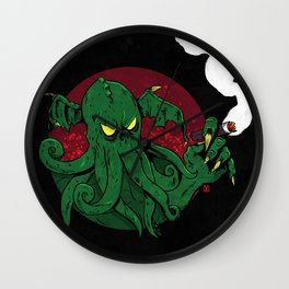 Cthulhu Cigars: Taste the Madness Wall Clock