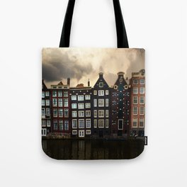Postcards from Amsterdam Tote Bag