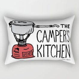 The Camper's Kitchen Rectangular Pillow