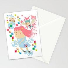 Polypop FlyGirl Stationery Cards