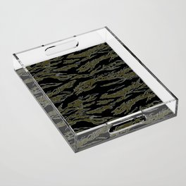 Tiger Camo Acrylic Tray