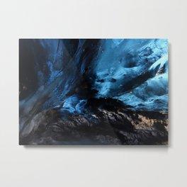 Ice Cave, Iceland Metal Print